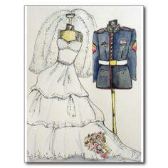 Shop US Marine Wedding Invitations created by Armywifecards. Wedding Postcard, Wedding Cards, Our Wedding, Dream Wedding, Wedding Ideas, Wedding Stuff, Wedding Inspiration, Sister Wedding, Wedding Themes