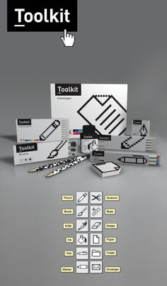 Toolkit by Ksan Sana, via Behance