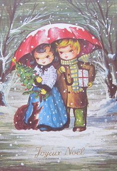32 Degrees North   Vintage Christmas card