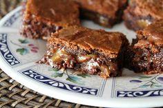 Basement Brownies  by @RecipeGirl Lori Chocolate Caramel Brownies, German Chocolate Cake Mix, Chocolate Chips, Chocolate Recipes, Chocolate Heaven, Best Brownies, Cake Brownies, Blondie Brownies, Recipe Girl