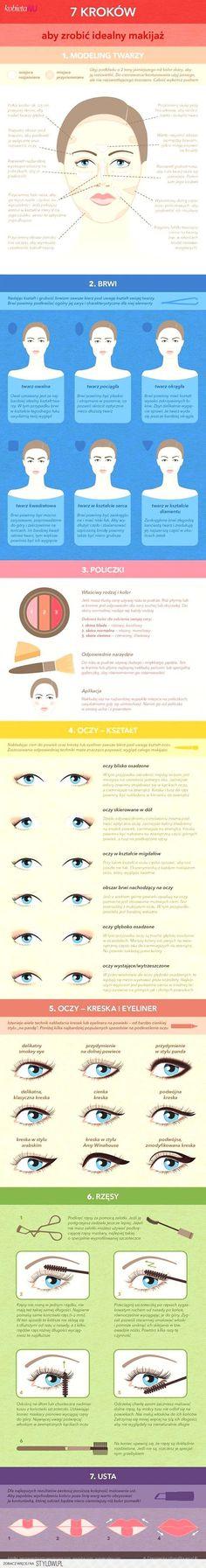 Jak zrobić idealny makijaż? :) na Stylowi.pl