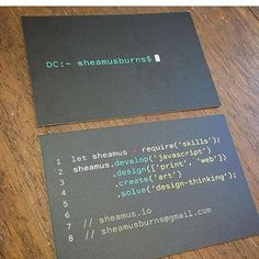 38 best business cards images on pinterest business cards brand business card haha lol code coding coder html colourmoves