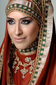 Hijabified bride !! :))