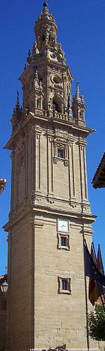 Santo Domingo de la Calzada - Torre exenta de la Catedral de Santo Domingo de la Calzada.