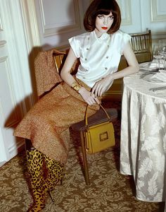 Meghan Collison for Harper's Bazaar Singapore by Yu Tsai