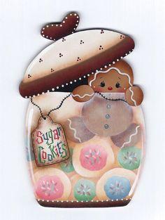 Sugar Cookies Gingerbread Painting E-Pattern par GingerbreadCuties