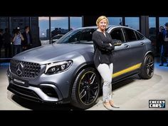 2018 Mercedes AMG GLC 63 S Coupe - Exterior and Interior Walkaround - Debut 2017 New York Auto Sho - YouTube