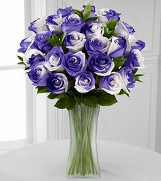 Lilac Inspirations Rainbow Rose Bouquet