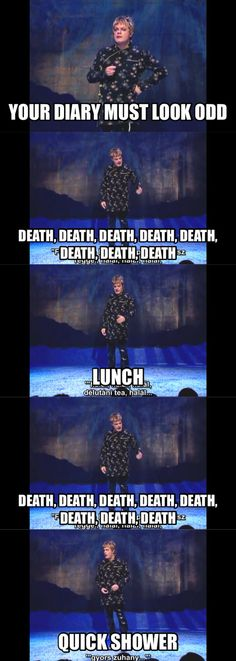 Amazing Quotes From Mr Izzard