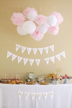Welcome Little Miss! Baby Girl Shower