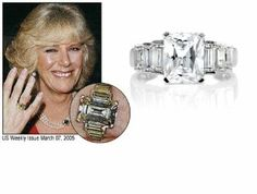 Camilla Parker Bowles engagement ring from Prince Charles
