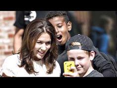 Crown Princess Mary of Denmark official opening new school in Aarhus, Fr...