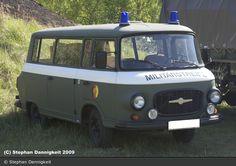 Barkas B 1000 - Miltärstreife - BOS-Fahrzeuge ...