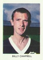 Billy Campbell of Dundee in 1969.