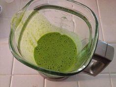 Slim & Sassy Spinach Shake...tastes like a McD's Shamrock Shake!