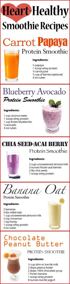 Heart Healthy Smoothies _ PinaholicMyrie.com