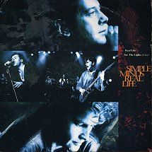 45cat - Simple Minds - Real Life / See The Lights (Live) - Virgin - UK - VS 1382