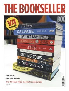 One prize: ten contenders. The YA Book Prize shortlist is announced. All available in the School Library.