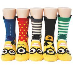 6pairs(6color)=1pack MINIMONS SOCKS Made in KOREA women woman girl big kids fun #MADEINKOREA #allStyle