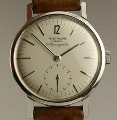 Patek Philippe Amagnetic. So simple, so perfect.