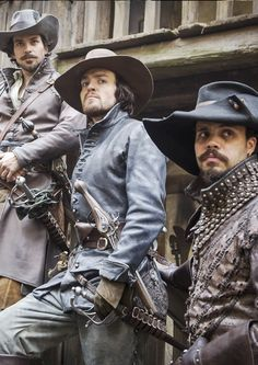 "captainstrat: ""Musketeers Edits.30/? Stills here. """
