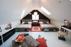 Attic Double Bedroom Decoration Effect Chart Greatly Entire 2012 Pictures Inclined Roof Attic Bedroom Decoration Pictures - http://www.2014interiordesign.com/design-photos/attic-double-bedroom-decoration-effect-chart-greatly-entire-2012-pictures-inclined-roof-attic-bedroom-decoration-pictures/