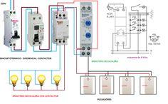 Telerruptor Electrical Wiring, Electrical Engineering, Ac Dc, Engineering, Electric Circuit, Circuits, Stairway, Vegetable Gardening