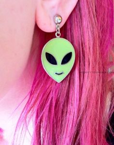 alien earrings | Tumblr