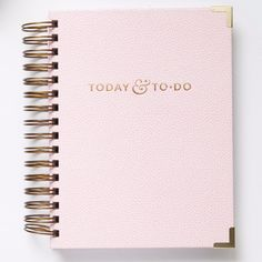 Today & To-Do: Blush