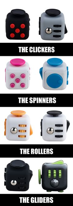 Fidget Heaven! Clickers, Spinners, Tappers and Rollers Check Out These Amazing Cubes that are breaking the internet!   Click To See The Pic and write a comment and get one for yourself!