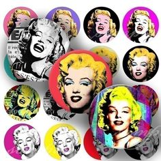 Hey, I found this really awesome Etsy listing at https://www.etsy.com/listing/59891484/marilyn-monroe-digital-collage-129-sheet