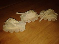 LadislavKurnota / tank Wooden Toys, Car, Tractor, Automobile, Wood Toys, Woodworking Toys, Vehicles, Cars