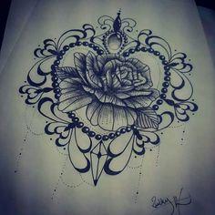 Blackwork rose tattoo design. Find me on Facebook Ruth tattooist or fourleaf tattoo. Tattoo Ideas, Tattoo Designs, Black Tattoo, Tattoo, Girly Tattoo.