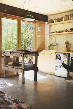 Garage-turned-apartment