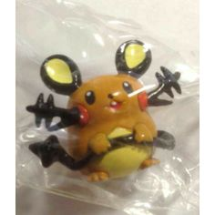 Pokemon Center 2014 Keshipoke XY Series #1 Dedenne Pokeball Figure