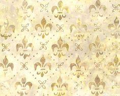 fleur de lis fabric | Fleur de Lis Batik[' from the 'Versailles' collection by Lunn Studios ...
