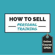 Learn how to sell personal training using our FREE cheat sheet. If you're new to PT or unsure how to get your first few clients, this step-by-step guide...