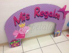 Cartel Peppa Hada #celebracion #fiestastematicas #peppapig