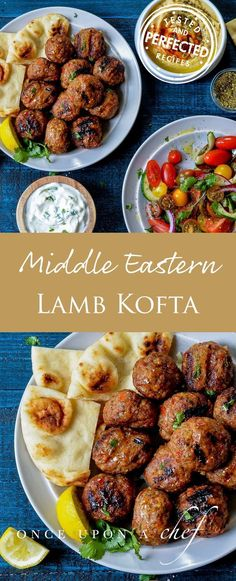 Middle Eastern Lamb Kofta