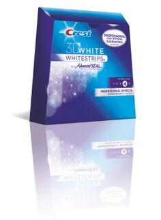 Crest 3D White Professional Effects Whitestrips. Absolutely love these strips. They actually stick to your teeth and don't slide around.