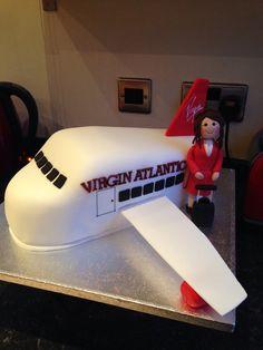 Aeroplane and air hostess