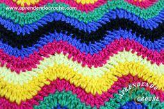 Ponto de Crochê Chevron - Receita de Croche com o Passo a Passo no Link http://www.aprendendocroche.com/receitas-de-croche/video-aula.asp?resid=1597&tree=2