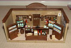 Sylvanian Families Village Store (vintage)