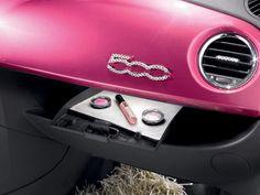 Barbie 50th anniversary - Fiat 500, fashion car / automobile