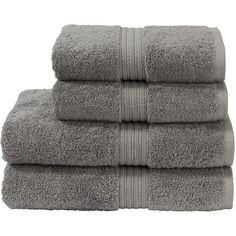 Christy Plush Towel - Shale - Bath Sheet (46 BAM) ❤ liked on Polyvore featuring home, bed & bath, bath, bath towels, fillers, grey, grey bath towels, christy bath towels, plush bath towels and gray bath towels
