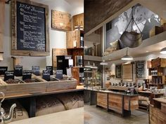 Layout designs modern office style medium size nice home design pictures kitchen coffee shop decor images rustic office Bio Design, Design Food, Cafe Design, House Design, Store Design, Interior Simple, Pastel Interior, Classic Interior, Coffee Shop Interior Design