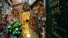 Libreria Acqua Alta, Venice (Credit: Photo: Justine Kibler)