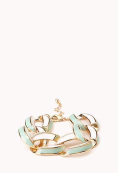 Mod Curb Chain Bracelet | FOREVER21 - 1000128660
