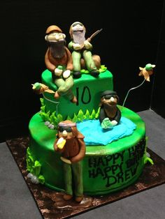 Duck Dynasty Birthday Cake Cakes Duck Dynasty Pinterest Duck