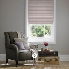 Grace Mulberry Roller Blind
